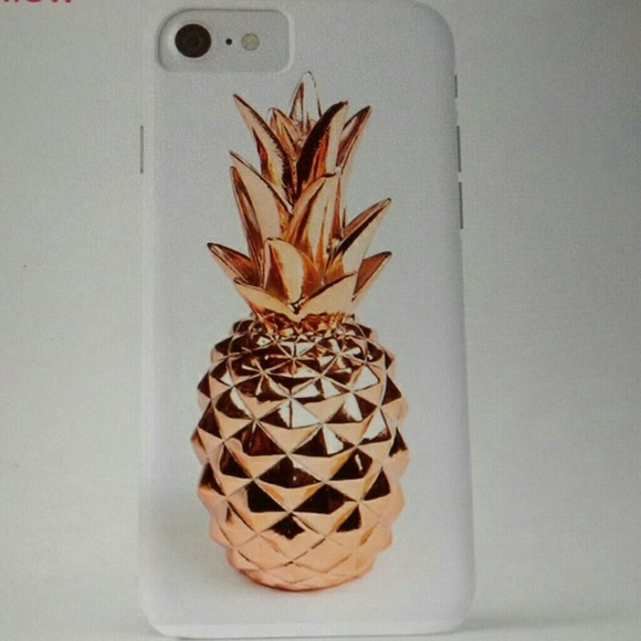 Accessories - NWT PINEAPPLE IPHONE SOFT COVER
